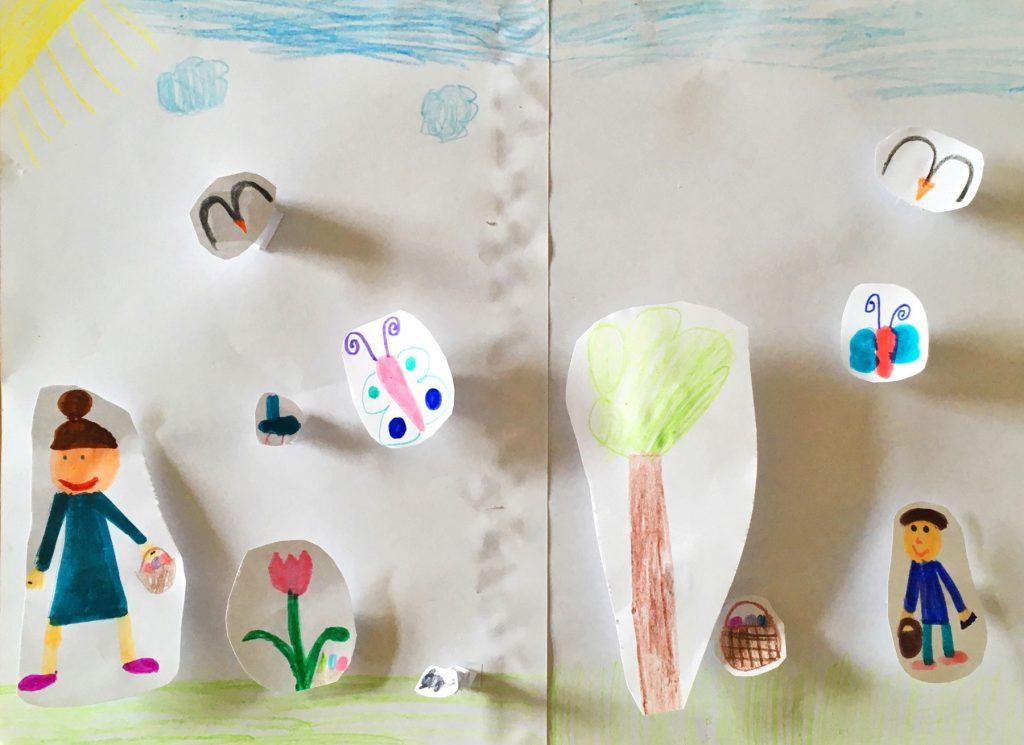 """""""Bewegende Ostern"""", Charlotte, 8 Jahre, 2d"""